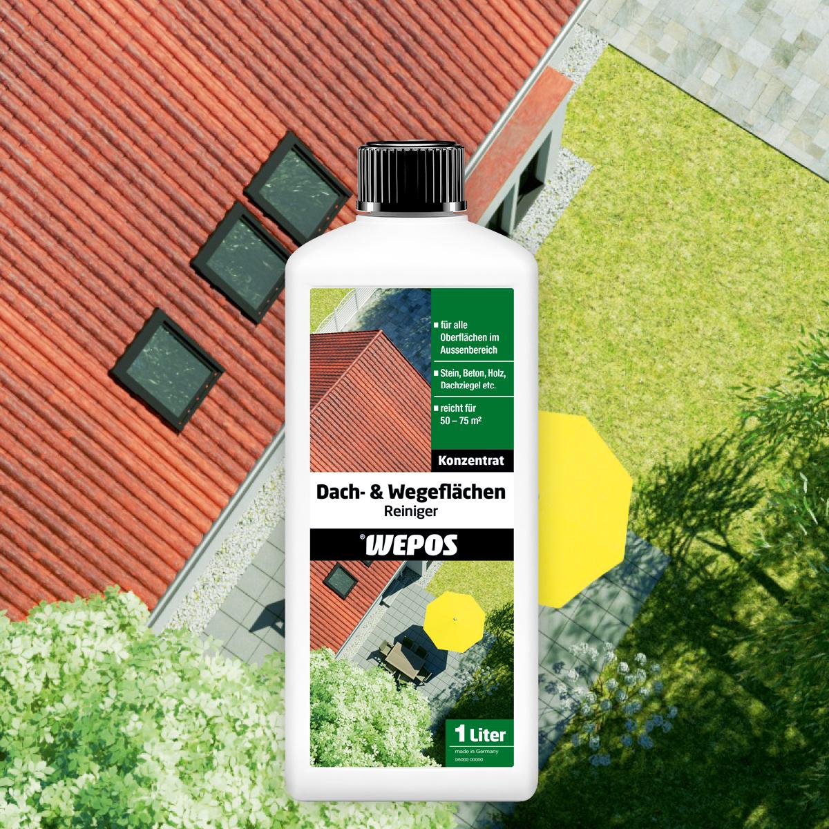 Dach- & Wegeflächen Reiniger