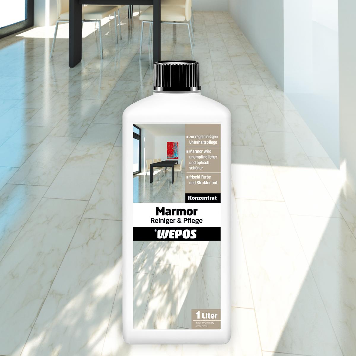 Marmor Reiniger & Pflege