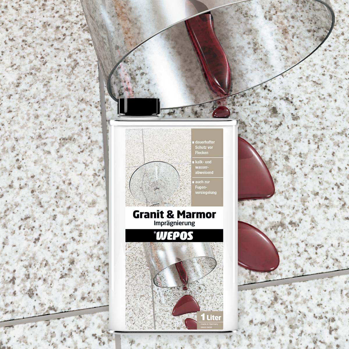 Granit & Marmor Imprägnierung
