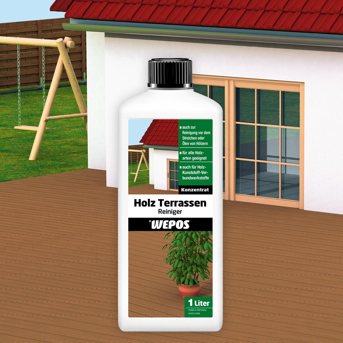 Holz Terrassen Reiniger