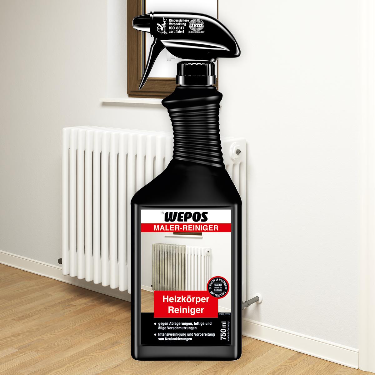 Maler-Reiniger Heizkörper Reiniger 750 ml