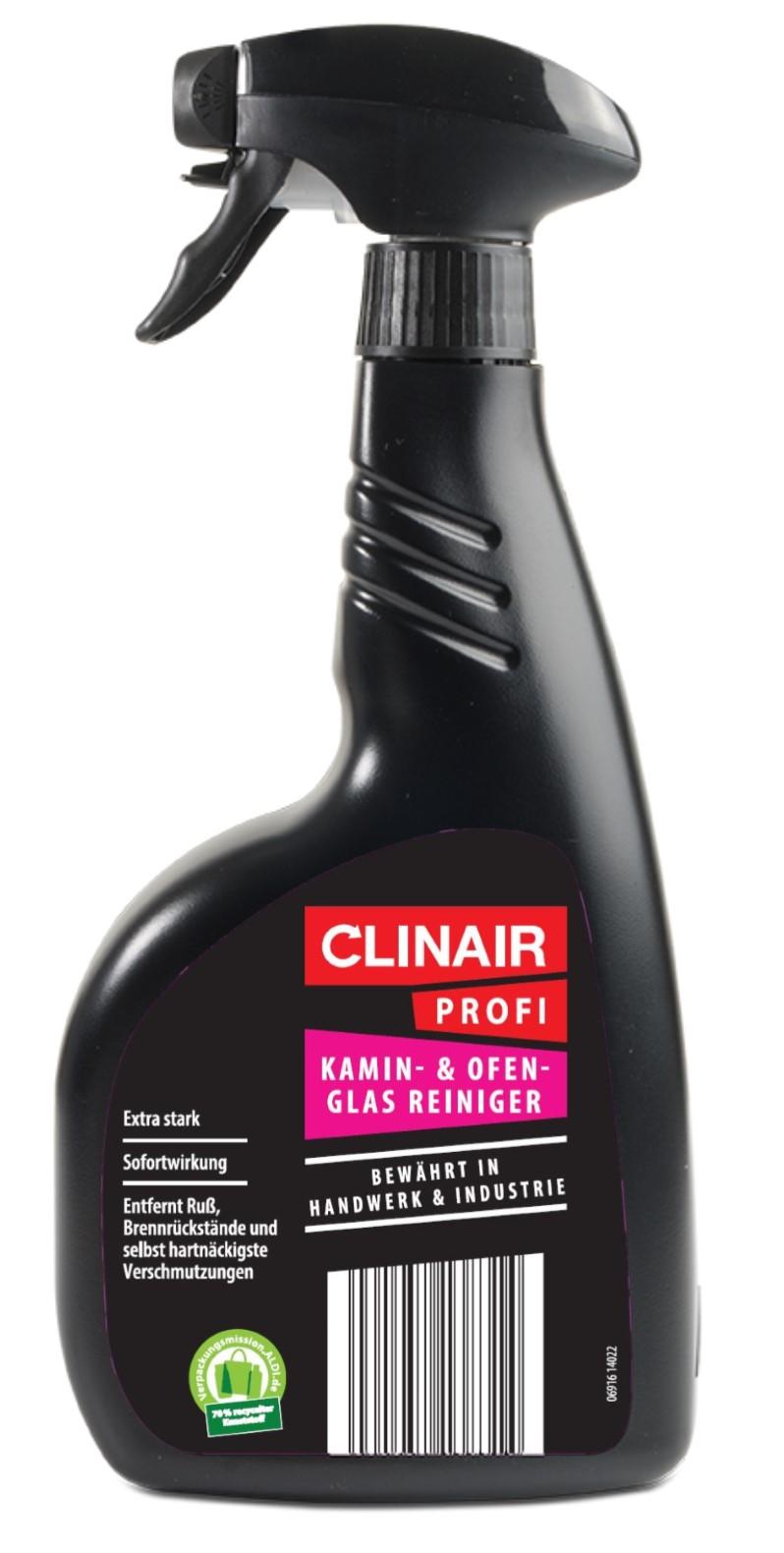 Clinair Kamin- & Ofenglas Reiniger