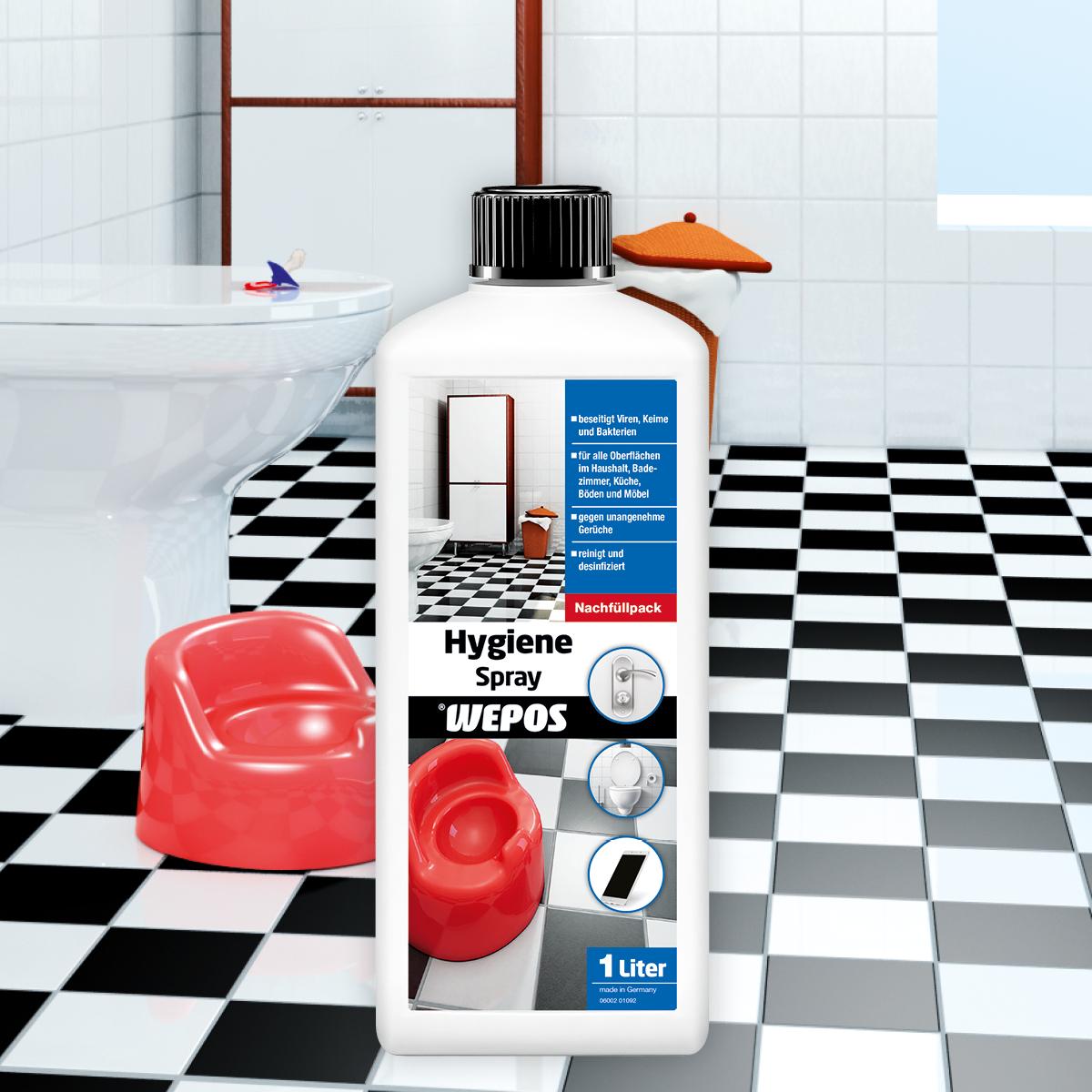 Hygiene Spray Nachfüllpack