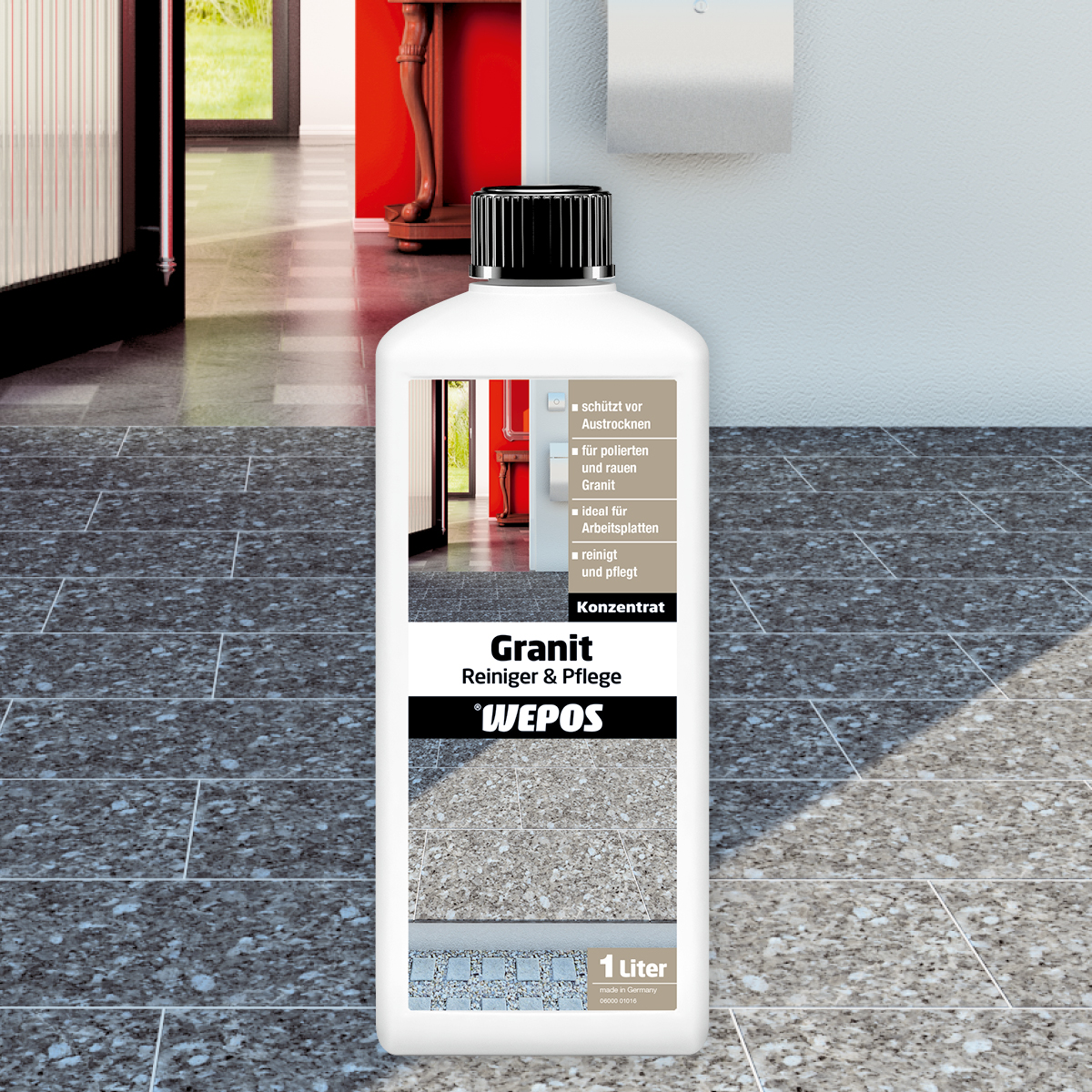 Granit Reiniger & Pflege